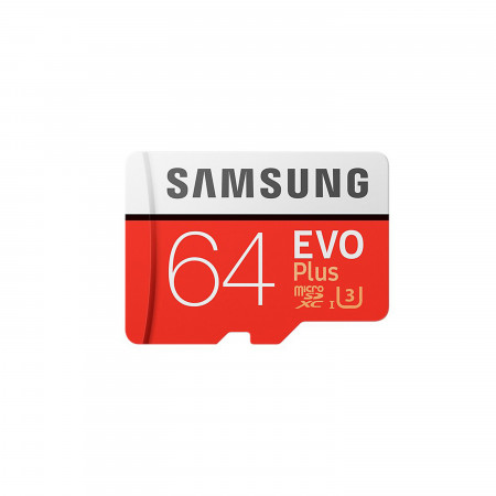 microSDHC Speicherkarte 64GB UHS-1 CL10 / Samsung EVO Plus
