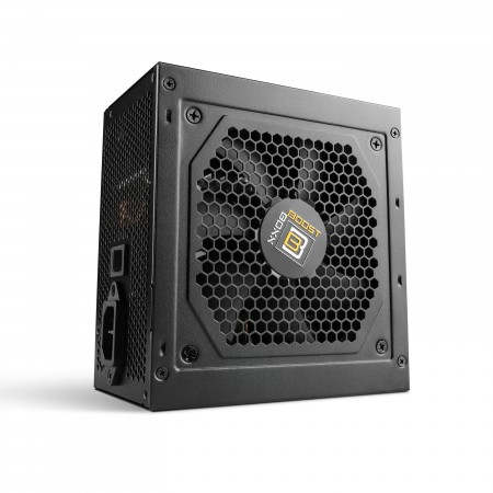 600 Watt BoostBoxx Power Boost, Semi-Modular, 90% Effizienz, 80 Plus Gold zertifiziert