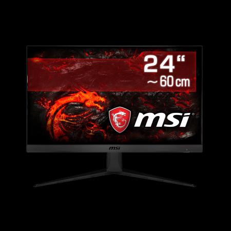 "60 cm (24"") MSI Optix G241-013 IPS-Panel, 1920×1080 (Full HD), DisplayPort, 2x HDMI, LED-Backlight"