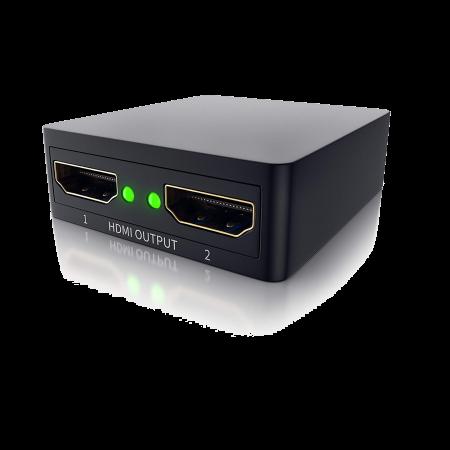 CSL Mini UHD (4K) 2-Port HDMI-Splitter