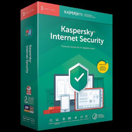 Kaspersky® Internet Security - 3 Lizenzen