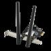 WLAN PCIe Karte 2402 MBit/s (574 MBit/s @ 2,4 GHz) -  ASUS PCE-AX3000