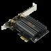 WLAN PCIe Karte 2402 MBit/s (600 MBit/s @ 2,4 GHz) -  ASUS PCE-AX58BT