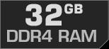 32 GB DDR4-RAM