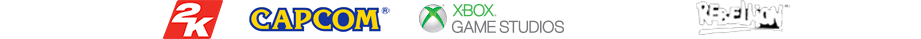 Gearbox Software, 2K, CAPCOM, Xbox Game Studios, 343 Industries, Rebellion, Ubisoft