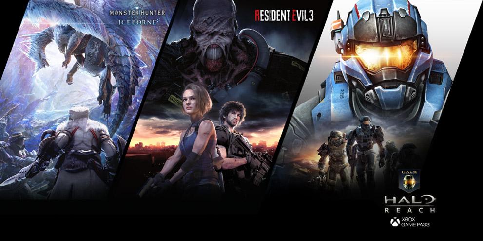 AMD Radeon Hero - Monster Hunter World Iceborn, Resident Evil 3, Halo Reach