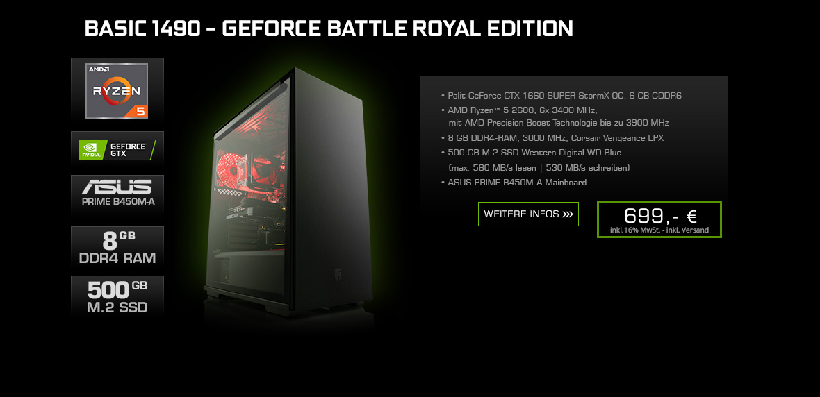 Basic 1490 - GeForce Battle Royal Edition