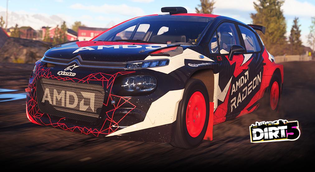 DiRT 5 Rally Wagen