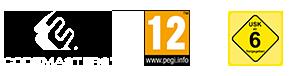 CodeMasters, ESRB:E Rating Logos
