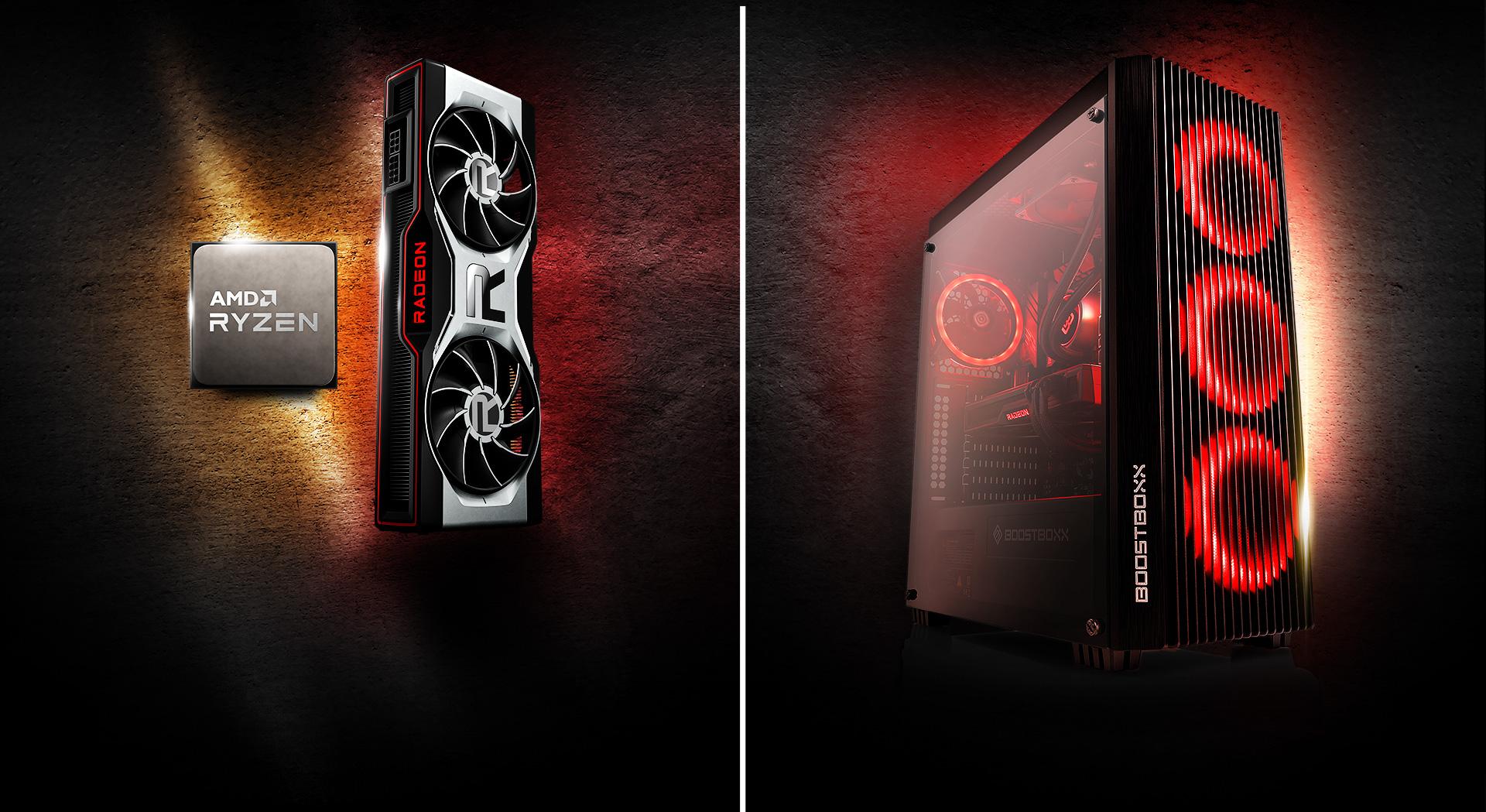 AMD Ryzen™ CPU + Radeon™ Grafikkarte - Header image