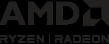 AMD Ryzen   Radeon Series Wordmark