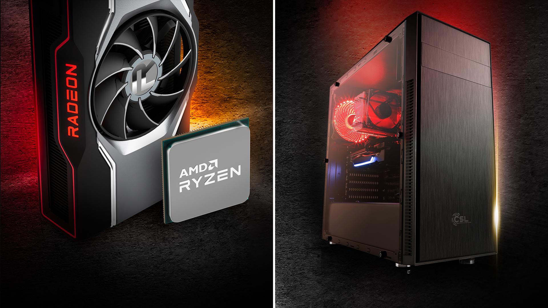 AMD Ryzen™ and Radeon™