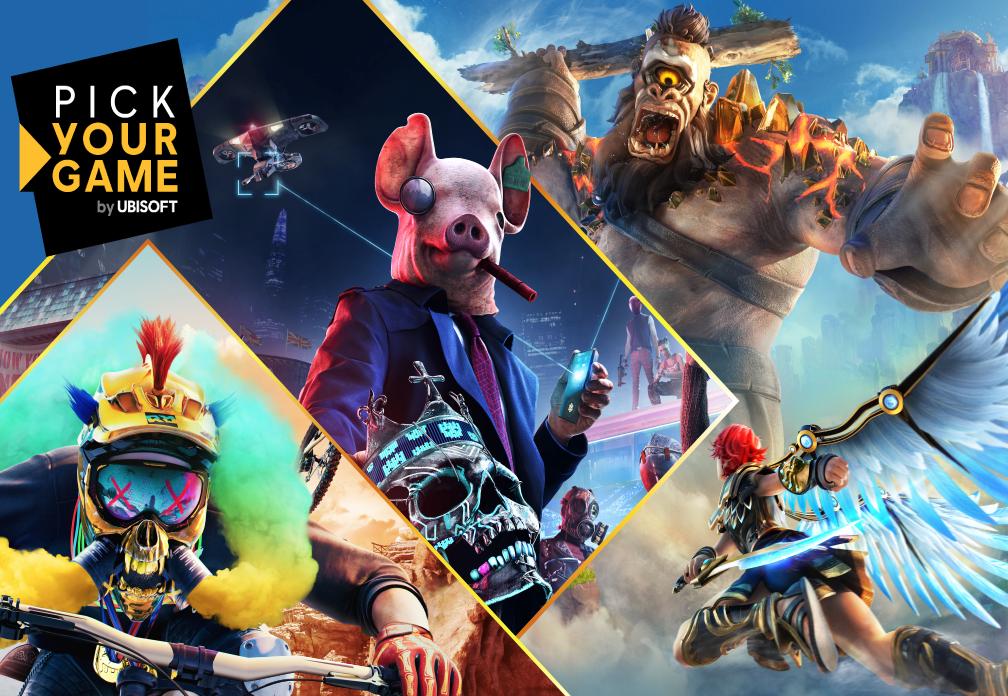 Intel Pick Your Game-Bundle Ubisoft - Header image