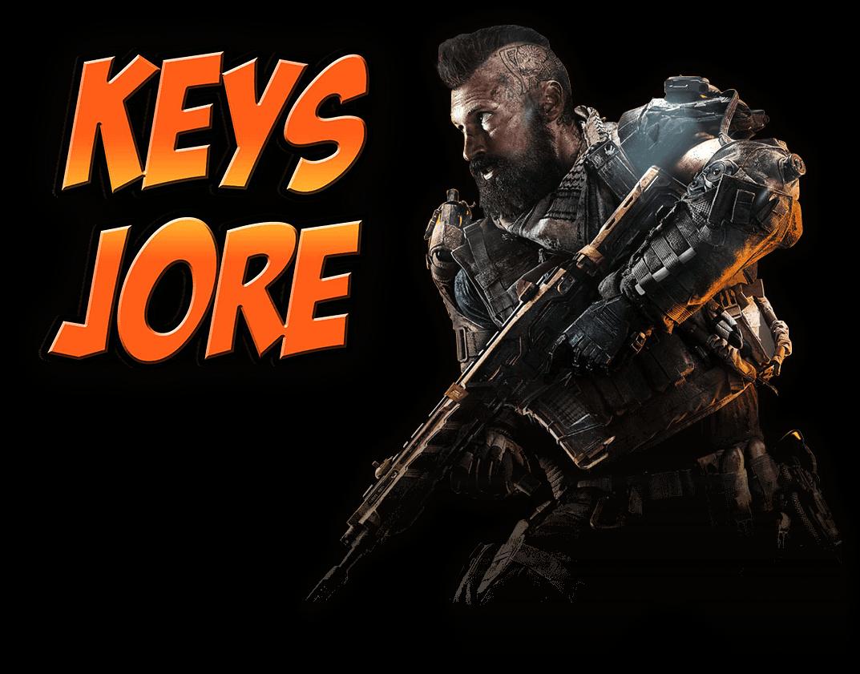 KeysJore Logo & Call of Duty: Black Ops 4