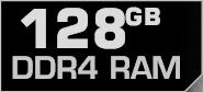 128 GB DDR4 RAM